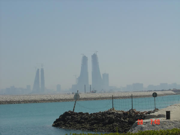 Bahrain developments under construction