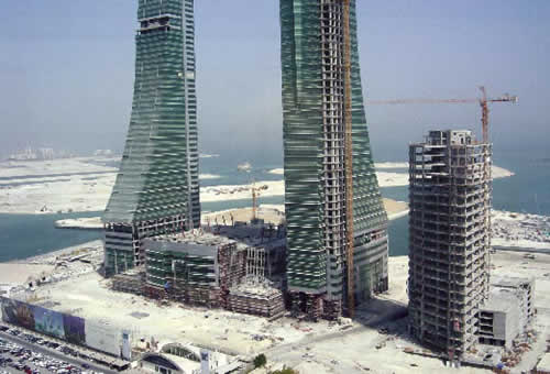 Bahrain's Financial Harbour will feature a marina.